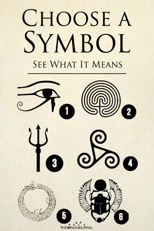 Choose a Symbol – See What It Means | Spiritual symbols | Spiritual