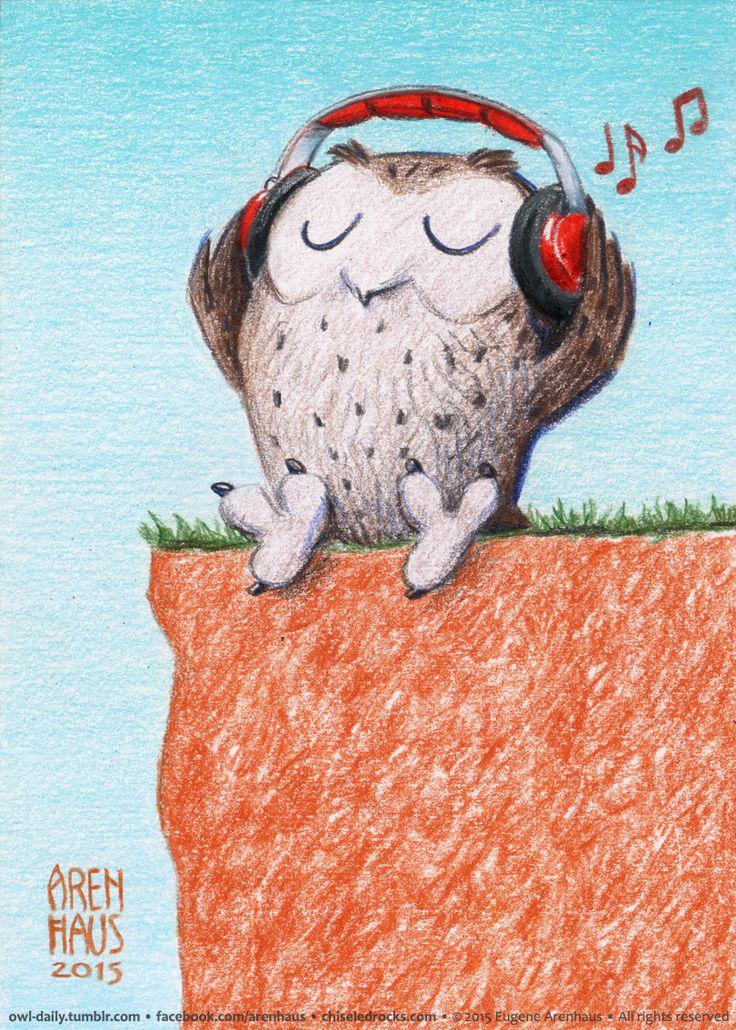 №315: Audiophile owl.