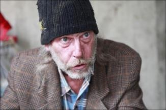 "Greg Bepper a ""Old Bill' is set to star in Under the Bridge, a new local play about homeless people. 2011"