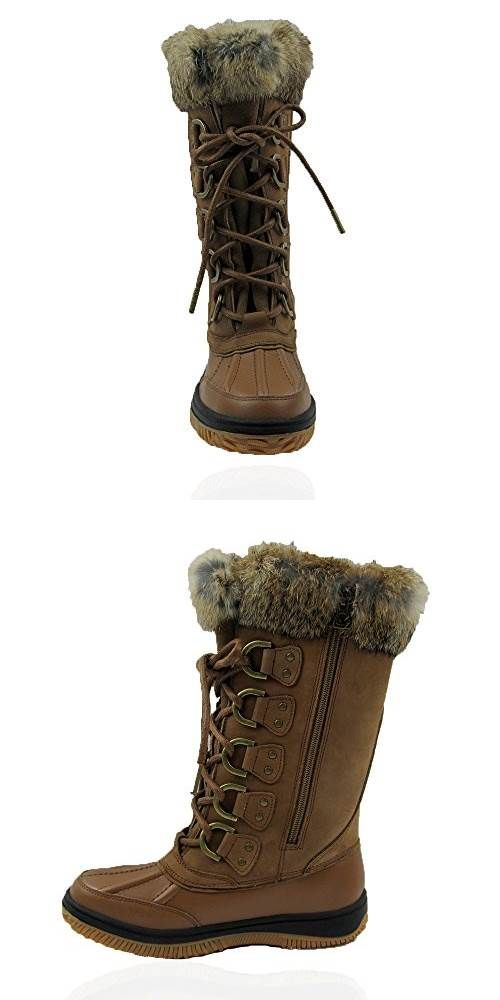 Comfy Moda Womens Winter Snow Boots Arctic Leather Waterproof 6 #SHOES