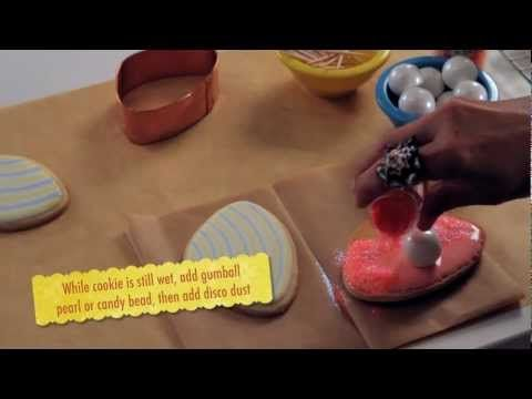 Sweet Dani B's Clam Shell Cookie How-to - YouTube