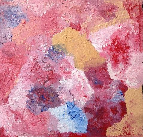 Marlene Young, Country, 30x30, $150, outback aboriginal art