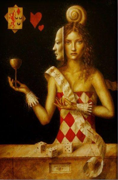 Rainha de copas: da albedo à rubedo, uma análise alquímica da função sentimento