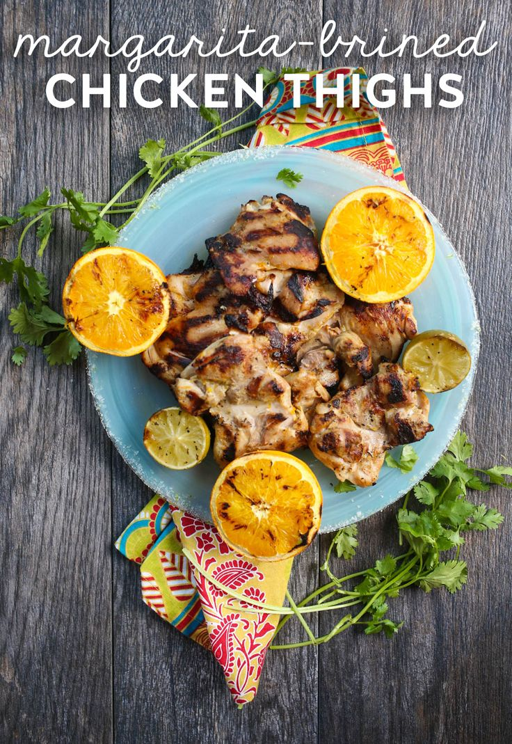 Hf ideas parrillas y asados - Boneless Skinless Chicken Thighs Marinated In This Citrus Infused Brine Are Incredibly Juicy And Flavorful