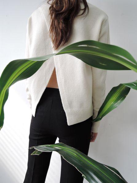 #split #back #sweater