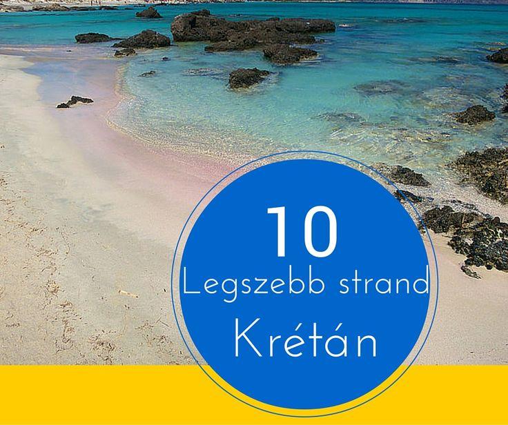 10 legszebb strand Krétán