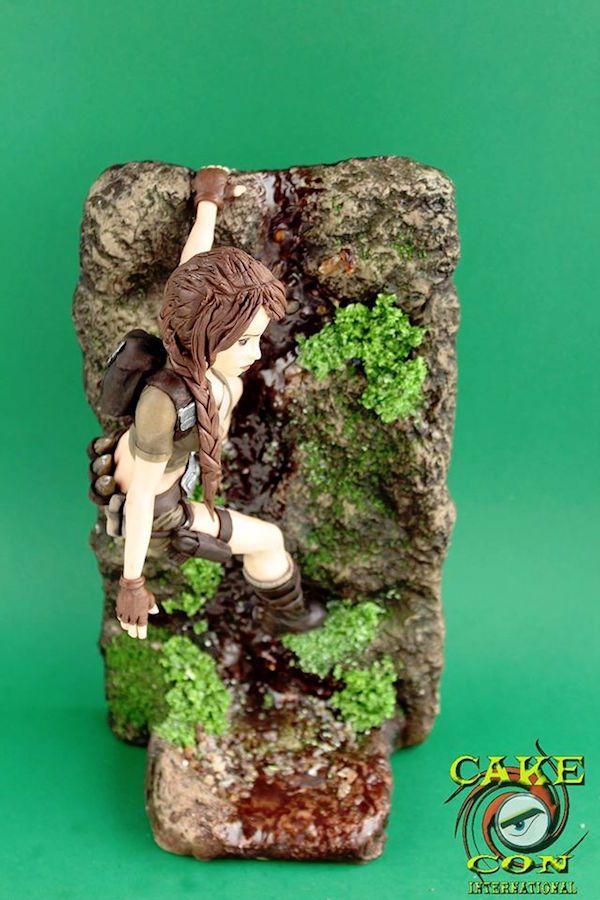 This Lara Croft 'Tomb Raider' Diorama Is Actually Edible