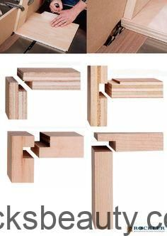 Möglichkeiten, mit der Tischsäge Verbindungen herzustellen, für die Sie normalerweise einen Fräser benötigen
