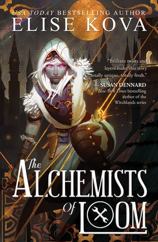 The Alchemists of Loom by Elise Kova (Steampunk Fantasy) #bookreview #fantasy #steampunk #theloomsaga