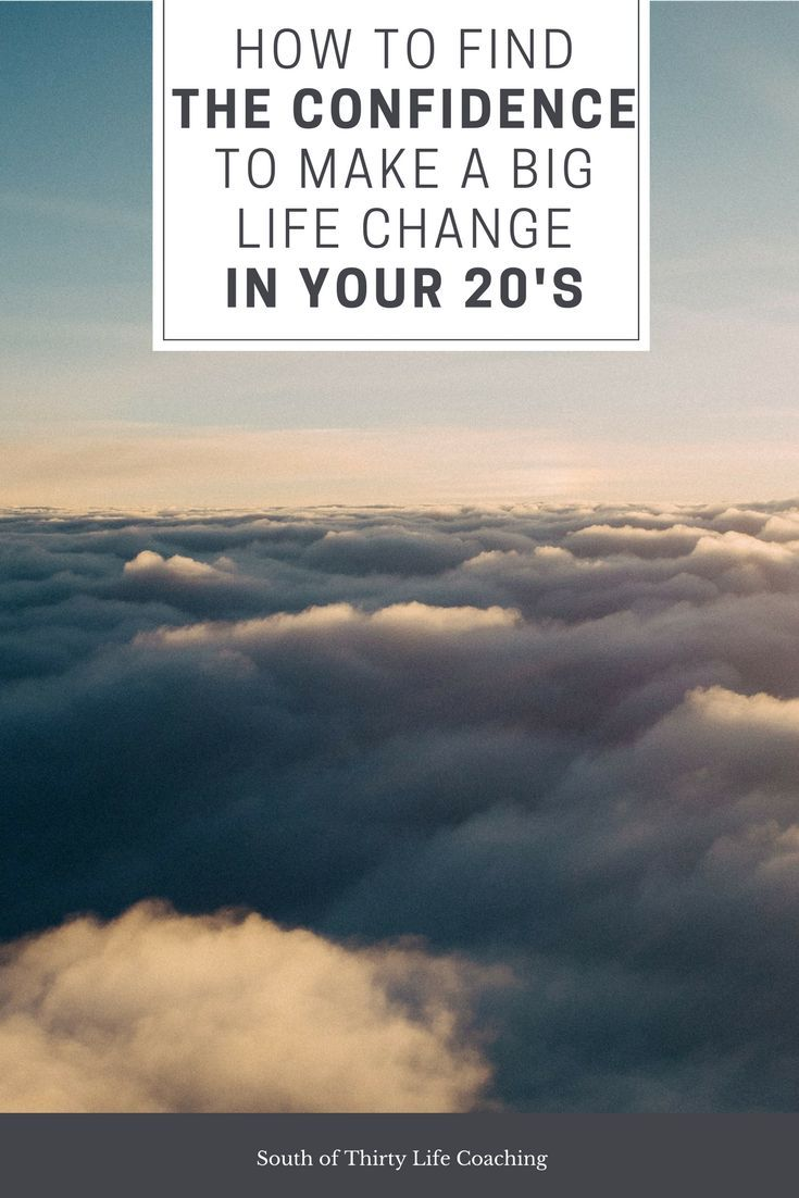 Are you in your twenties and thinking about making a major change in your life but keep putting it off? Here's a complete guide to gaining the confidence you need to make the changes you want.