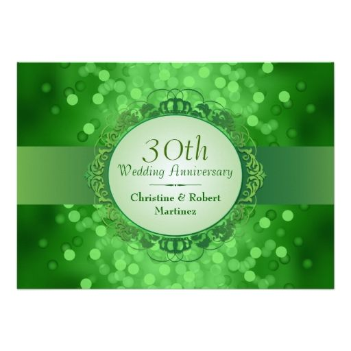 652 best 30th Anniversary Party Invitations images on Pinterest ...