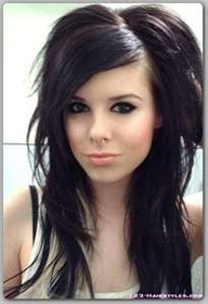 Love EMO hair!