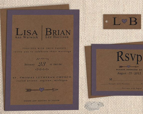 Rustic Wedding Invitation Sets: Best 25+ Barn Wedding Invitations Ideas On Pinterest