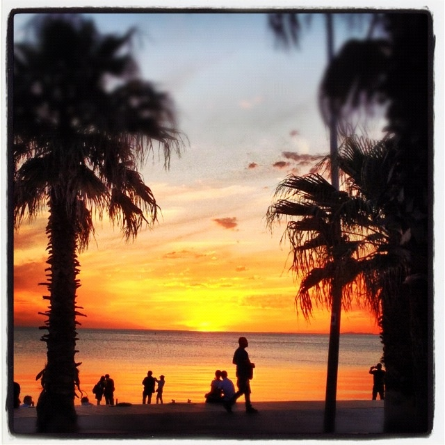 St Kilda Beach at Sunset Melbourne Australia - The Long weekend from Republica
