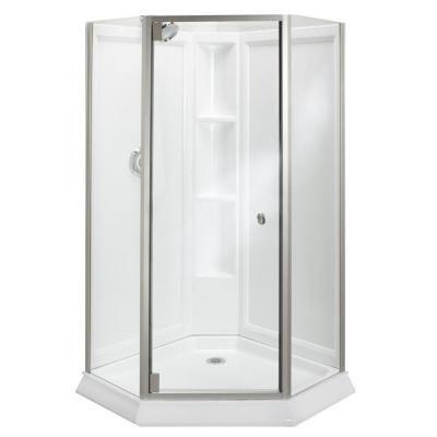 Best 25 corner shower doors ideas on pinterest corner for Economic bathroom designs