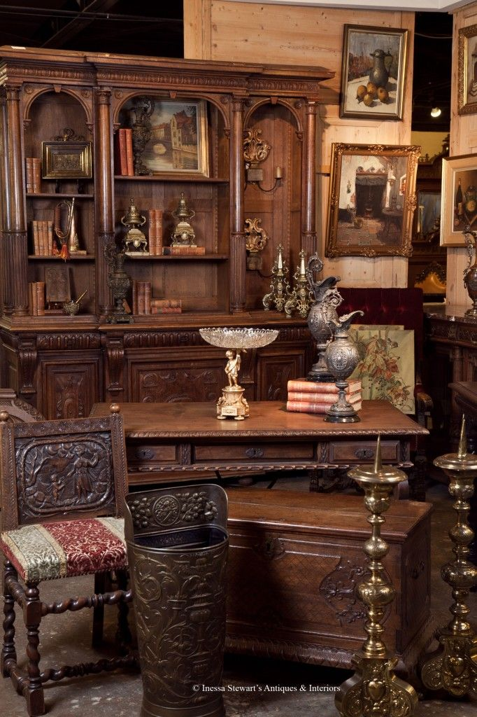 Elegant French And European Antique Furniture And Accessories   Inessa Stewartu0027s  Antiques