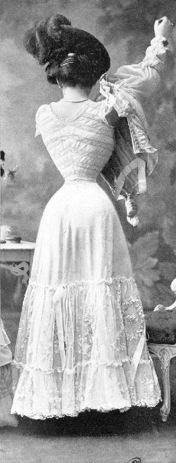 Corset 1905 (la taille !)