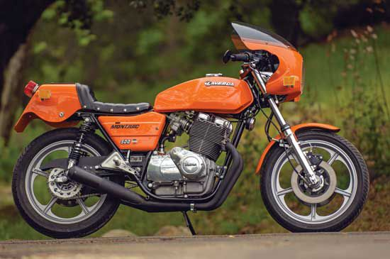 The Laverda Montjuic was a street legal Formula 500. (Story by Robert Smith, photos by Gary Smith. Motorcycle Classics, March/April 2014)