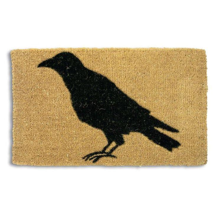 Tag Black Crow Coir Doormat - TAG73012