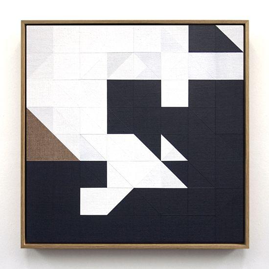 Chess Painting No. 21, Tom Hackney 2014