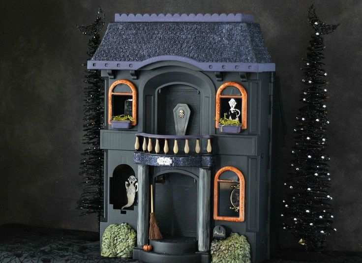 cheap halloween decorations from dollhouse to haunted house - Cheap Ways To Decorate For Halloween
