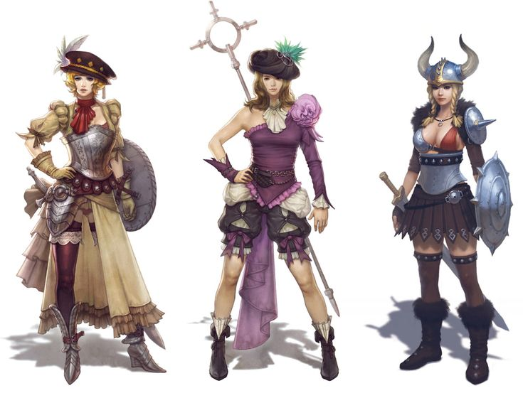 Female Designs - Characters & Art - Vindictus