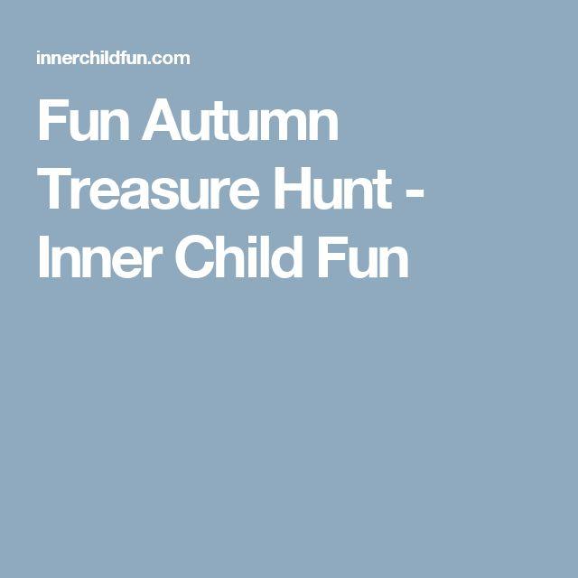 Fun Autumn Treasure Hunt - Inner Child Fun