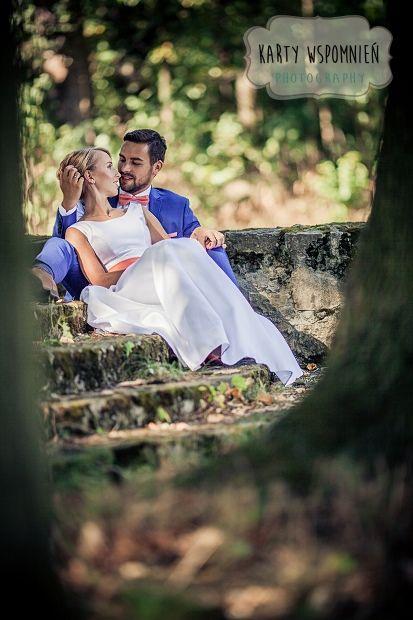 śluby zamek moszna