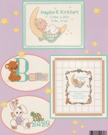 PM60 Sweet Dreams - Precious Moments Cross Stitch Pattern | weaving