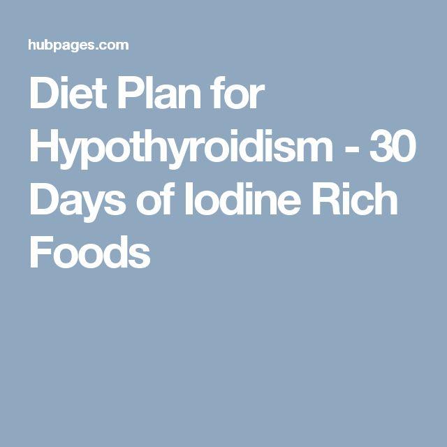11 best Iodine images on Pinterest | Food, Thyroid diet ...