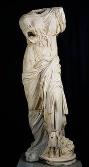 """""""Venus de Madrid"""", Taller romano, Ca. 150, Mármol"""