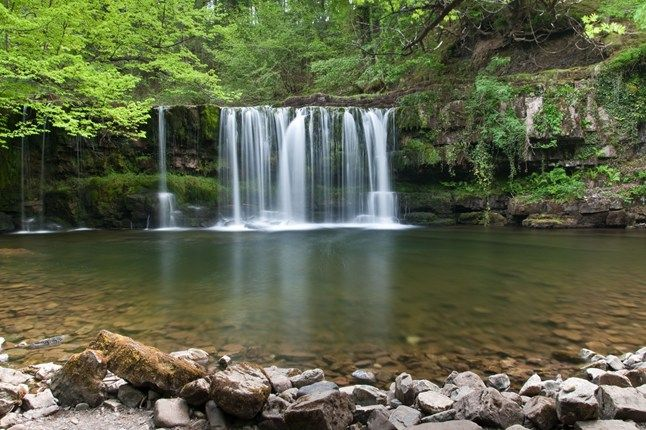 Waterfall Woods, Brecon Beacons, Wales | Best wild swimming spots, via cntraveller.com
