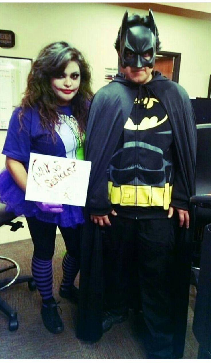 joker and batman - Chrispy Halloween