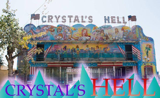 Διάδρομοι, καθρέφτες, σκοτάδι, φως, αλλά και ένα…απρόσμενο ρεύμα αέρα, που θα σε πιάσει απροετοίμαστο! Δεν μπορούμε να σου περιγράψουμε περισσότερο το Crystal's Hell – απλά, θα πρέπει απλά να το ζήσεις από μόνος σου!  Είδες το νέο site μας; Αν όχι ακόμη – μπες τώρα στο www.magicpark.gr!