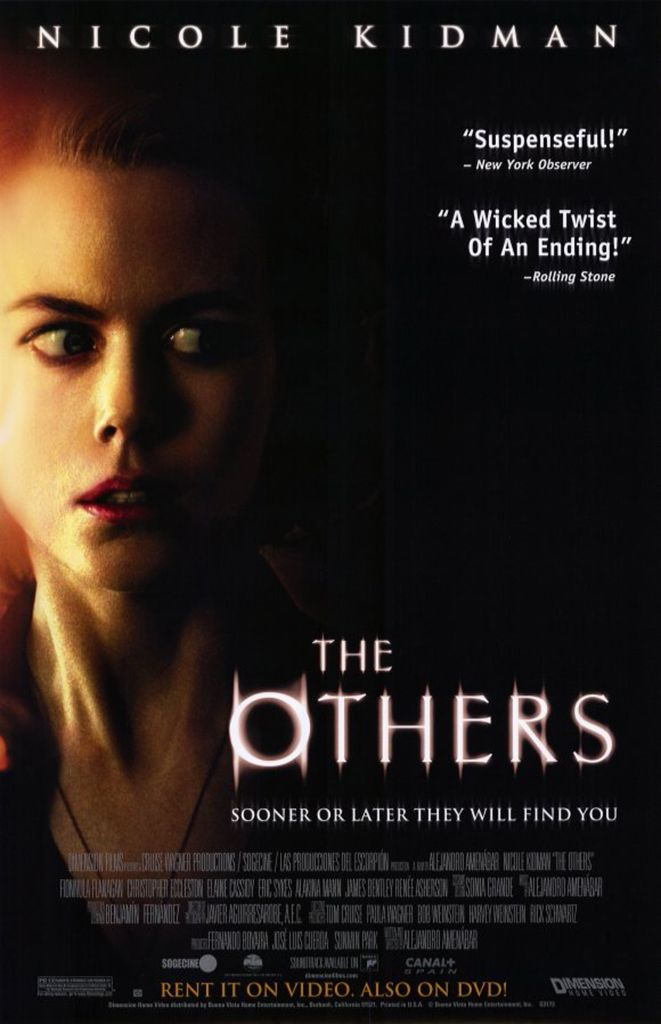 """The Others"" ,2001 / Director: Alejandro Amenábar / Writer: Alejandro Amenábar / Stars: Nicole Kidman, Fionnula Flanagan, Christopher Eccleston #poster"