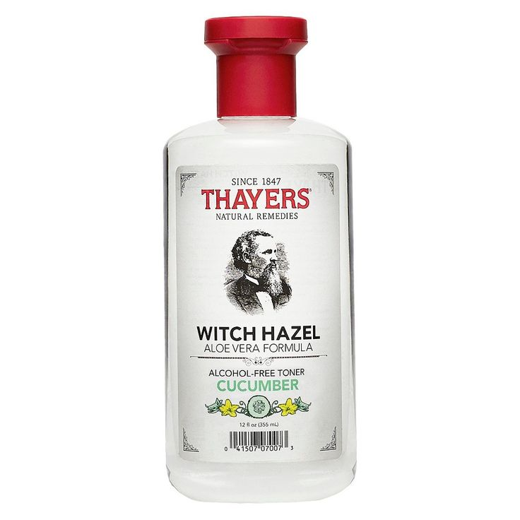 Thayers Witch Hazel Alcohol Free Toner Cucumber - 12 oz