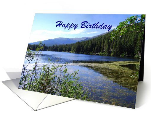 880 best SOLD on Greeting Card Universe images – Mountain Birthday Cards