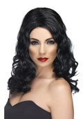 Image of: Glamorous Wig - Black