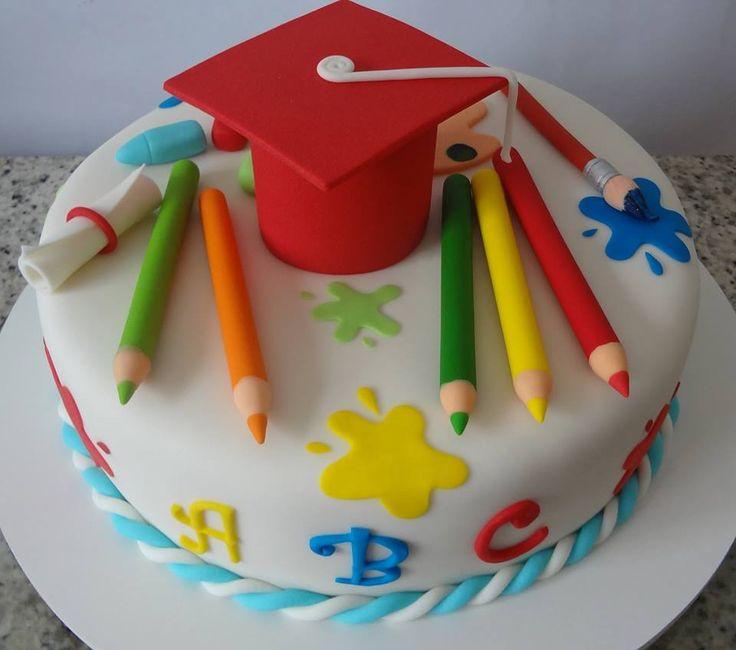 Enfeite De Torta ~ 17 melhores ideias sobre Graduaç u00e3o Pré Escolar no Pinterest Presentes da graduaç u00e3o pré escolar
