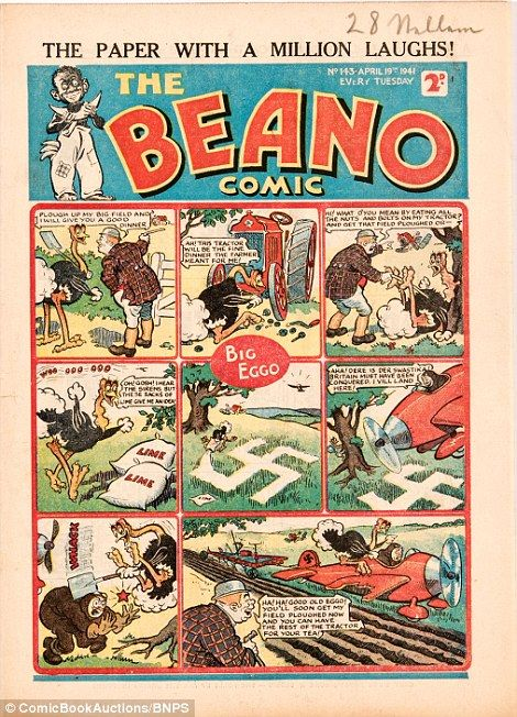 How the Beano won the Second World War