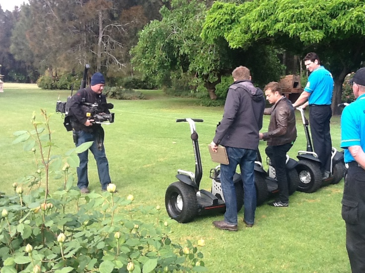 Last weather cross of the day, Segway Time!