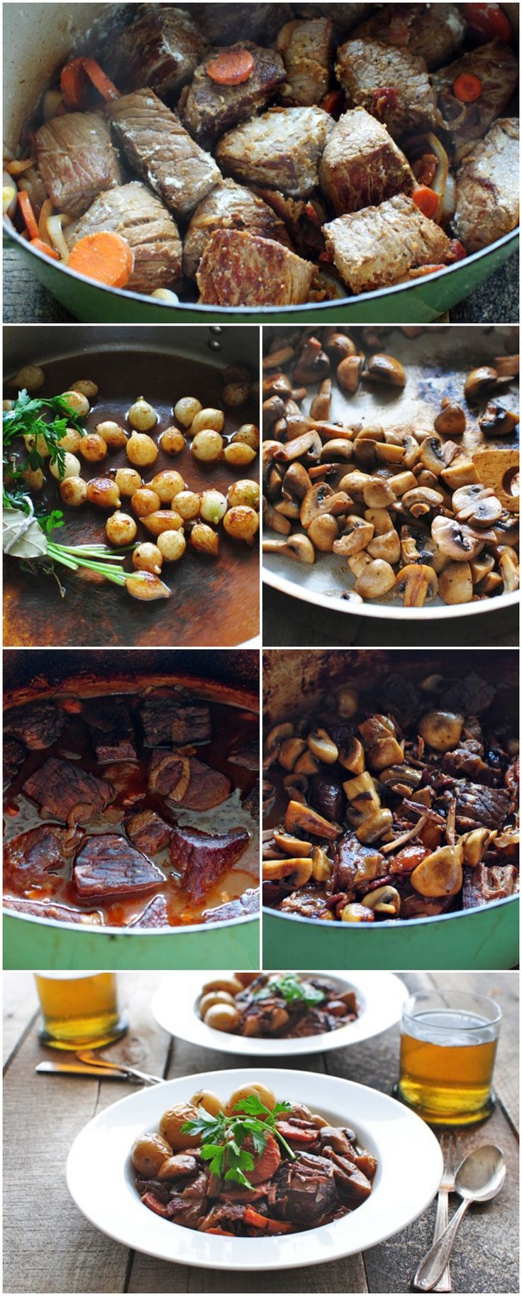 HOW TO: Make Julia Child's Beef Bourguignon - one of my favorite recipes!  I need to make this soon.