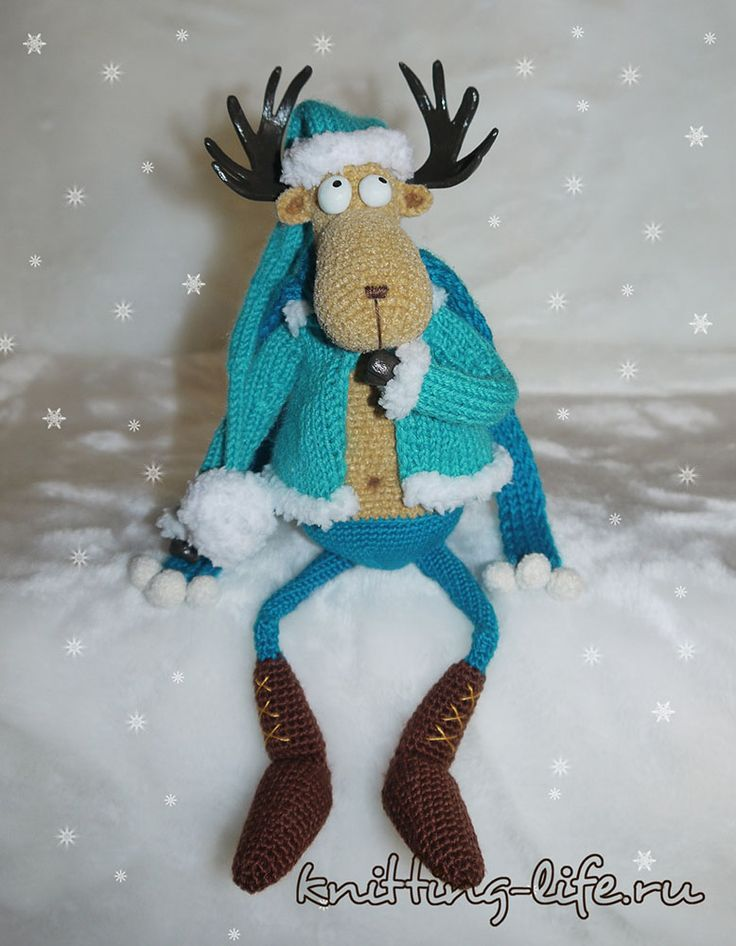 Лось Яшка - помощник Деда Мороза: