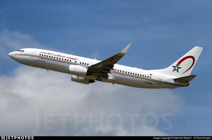 Photo of CN-RNW - Boeing 737-8B6 - Royal Air Maroc (RAM)
