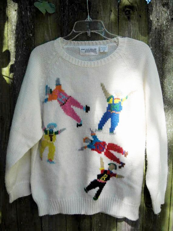 The Next Day Sweater | Community Post: 17 Beautifully Ugly Hipster Sweaters You Can Buy On Etsy
