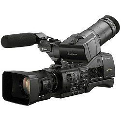 Sony NEX-EA50UH Professional Camcorder with 18-200mm Servo Zoom Lens by Sony. Save 17 Off!. $3499.00. The NEX-EA50UH is an affordable, entry-level large sensor NXCAM professional camcorder. Thanks to its E mount interchangeable lens system, Exmor APS HD CMOS sensor, powerful imaging capabilities and flexible semi-shoulder design, the NEX EA50UH significantly expands creative freedom for Full HD video and 16.1 megapixel high-quality still photos shooting. Highlights: The NEX-EA50H is...