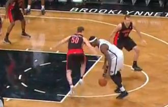 Video: Andray Blatche Sick Crossover On Tyler Hansbrough
