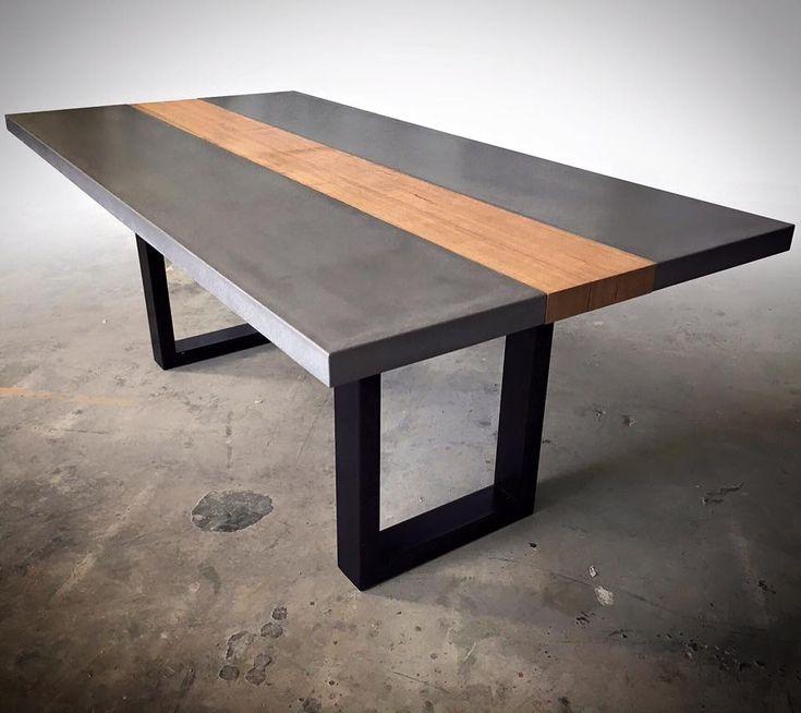 60 best Polished Concrete Tables images on Pinterest Concrete