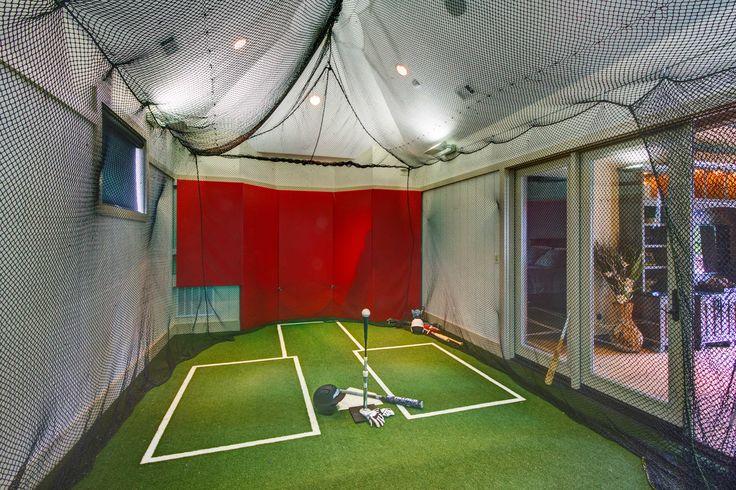62 Best Indoor Batting Cage Images On Pinterest Baseball