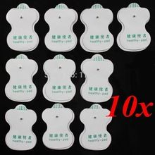 10 Pcs Electrode Pads For Tens Digital Acupuncture Therapy Machine Massager High  Quality //Price: $US $2.50 & FREE Shipping //